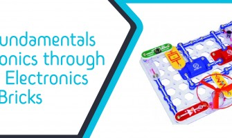 Learn fundamentals of electronics through Junior Electronics Bricks